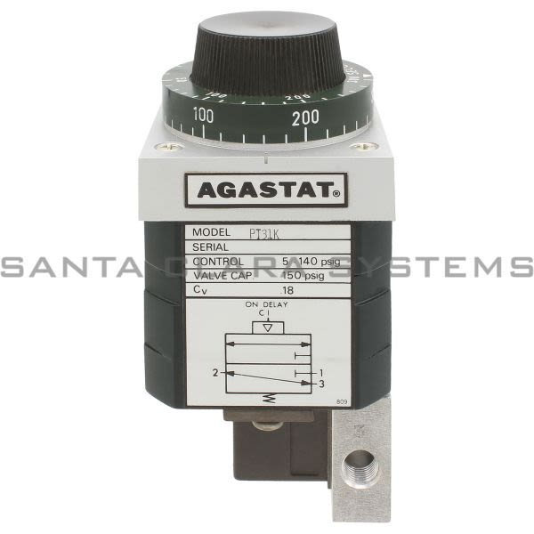 Agastat PT31K Timer Pneumatic Vertical Surface MT Product Image