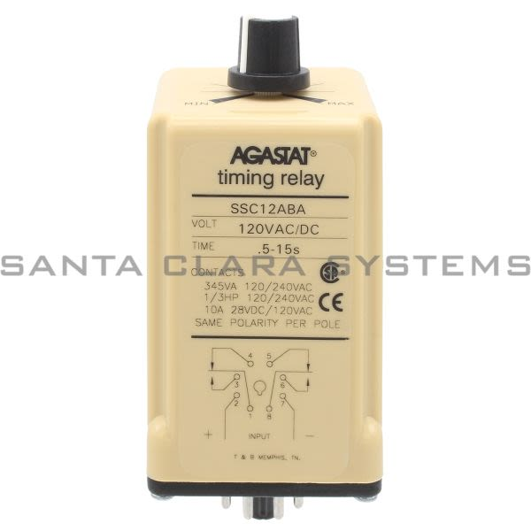 Agastat SSC12ABA Time Delay Relay Product Image