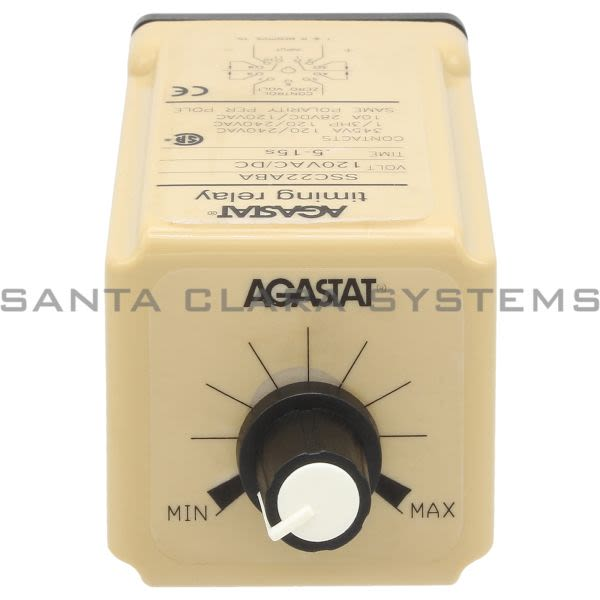Agastat SSC22ABA Time Delay Relay DPDT | Tyco Product Image