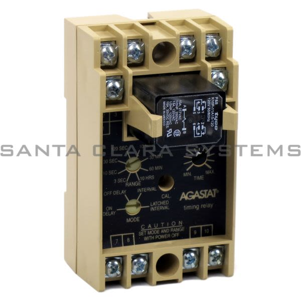 Agastat SSFR90A Time Delay Relay | Tyco Product Image