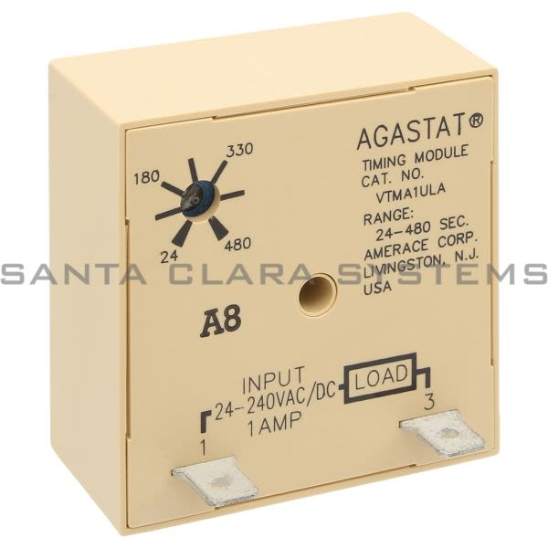 Agastat VTMA1ULA Time Delay Relay Product Image