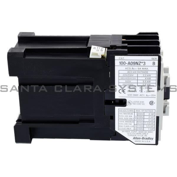 Allen Bradley 100-A09NZ243 Contactor Product Image