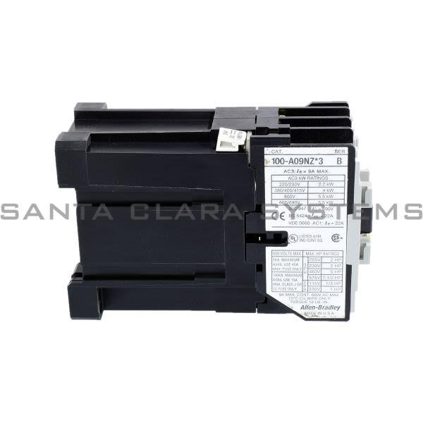 Allen Bradley 100-A09NZJ3 Contactor Product Image
