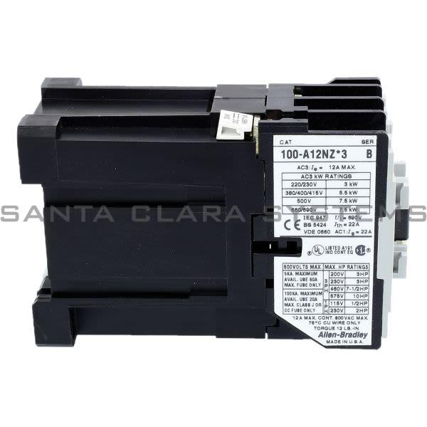 Allen Bradley 100-A12NZ243 Contactor Product Image