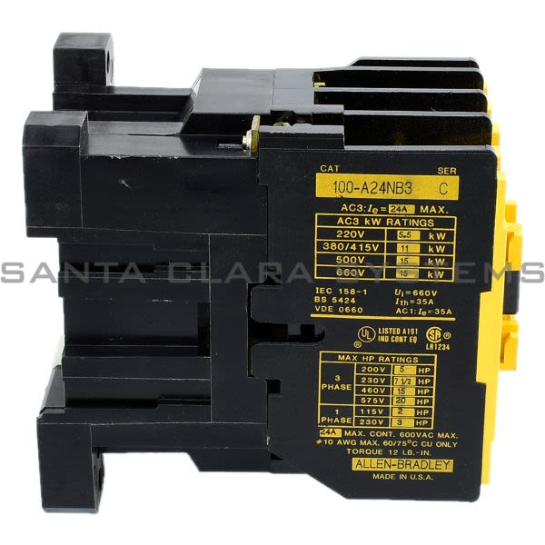 Allen Bradley 100-A24NB3 Contactor Product Image