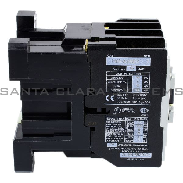 Allen Bradley 100-A24ND3 Contactor Product Image