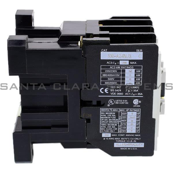 Allen Bradley 100-A24NJ3 Contactor Product Image