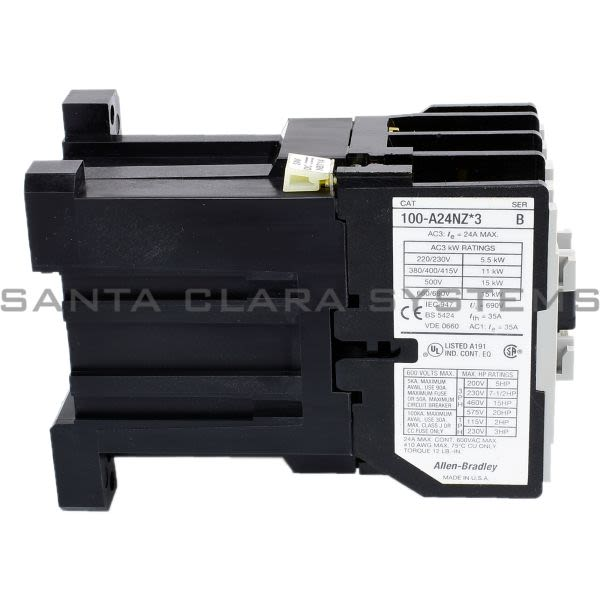 Allen Bradley 100-A24NZ243 Contactor Product Image