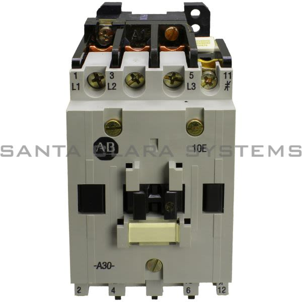 Allen Bradley 100-A30NA31 Contactor Product Image