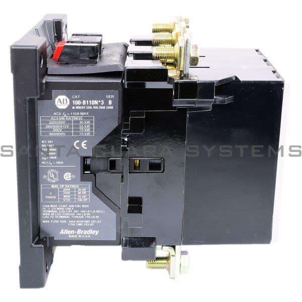Allen Bradley 100-B110ND3 Contactor Product Image