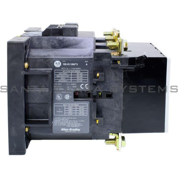 Allen Bradley 100-B110NZ123 Contactor Product Image