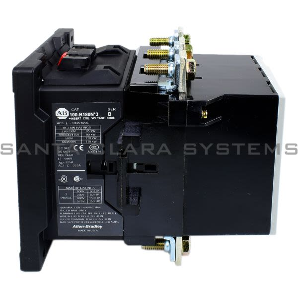 Allen Bradley 100-B180NA3 Contactor Product Image