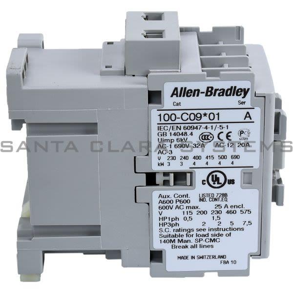 Allen Bradley 100-C09D01 Contactor Product Image