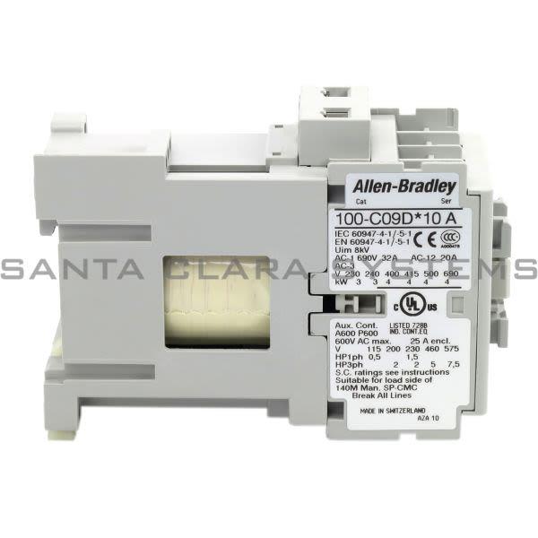 Allen Bradley 100-C09DJ10 Contactor Product Image