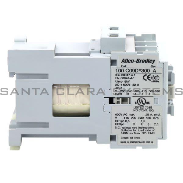 Allen Bradley 100-C09DJ300 Contactor Product Image