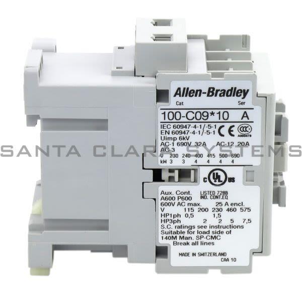 Allen Bradley 100-C09H10 Contactor Product Image
