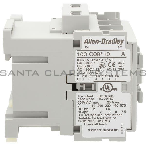 Allen Bradley 100-C09K10 Contactor Product Image
