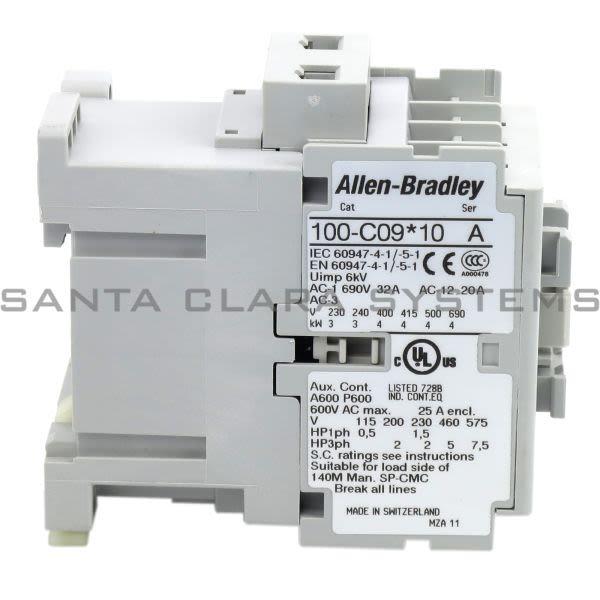 Allen Bradley 100-C09KD10 Contactor Product Image