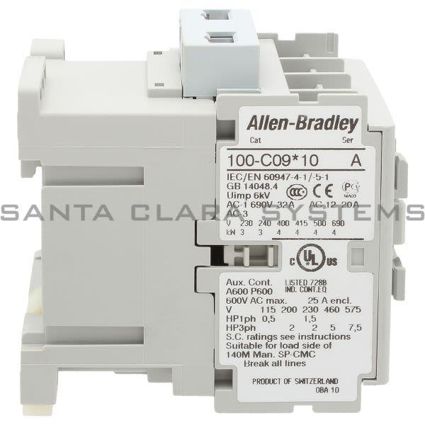 Allen Bradley 100-C09M10 Contactor Product Image