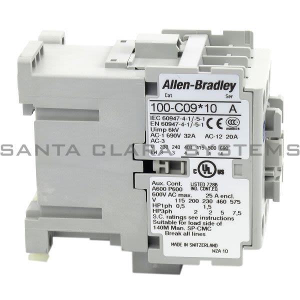 Allen Bradley 100-C09UD10 Contactor Product Image