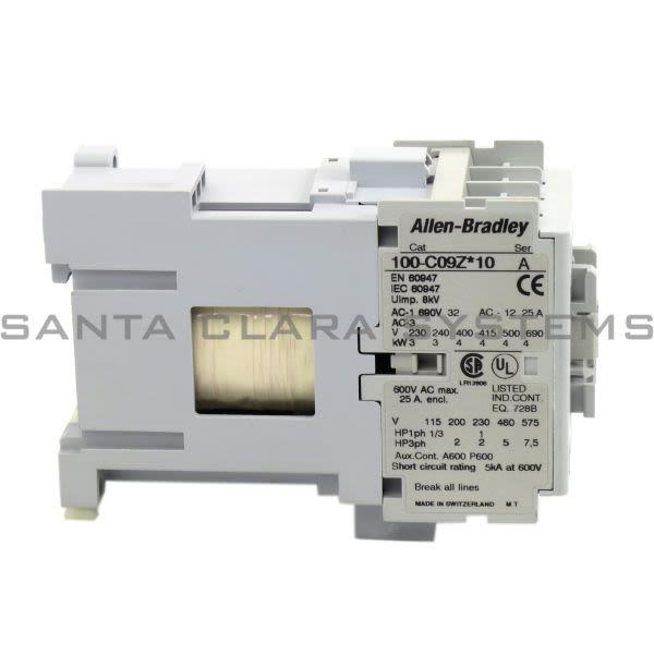 Allen Bradley 100-C09UDJ10 Contactor Product Image