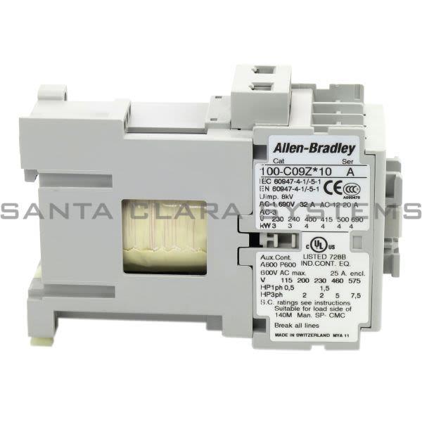 Allen Bradley 100-C09ZJ10 Contactor Product Image