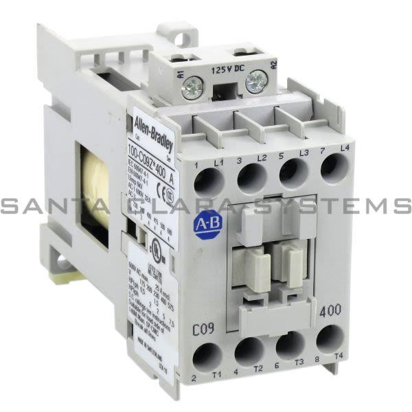 Allen Bradley 100-C09ZS400 Non Reversing Contactor Product Image