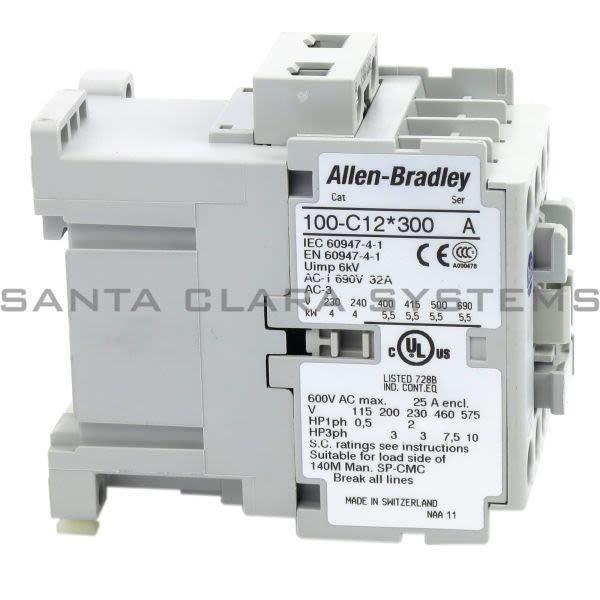Allen Bradley 100-C12D300 Contactor Product Image