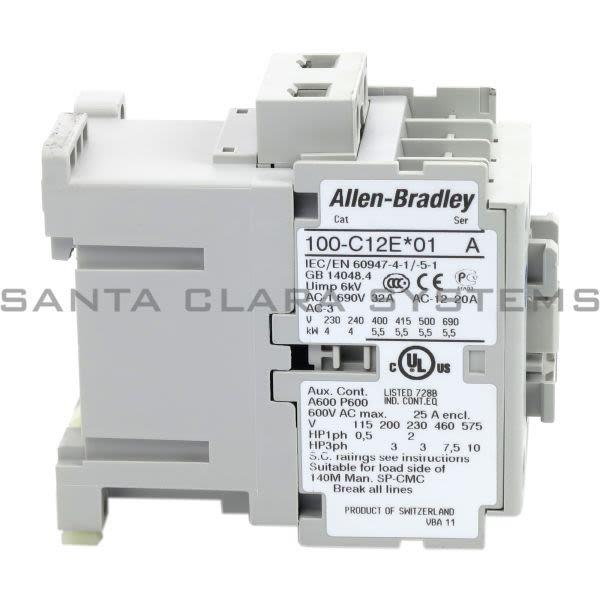 Allen Bradley 100-C12EJ01 Contactor Product Image