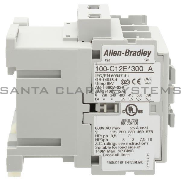 Allen Bradley 100-C12EJ300  Product Image