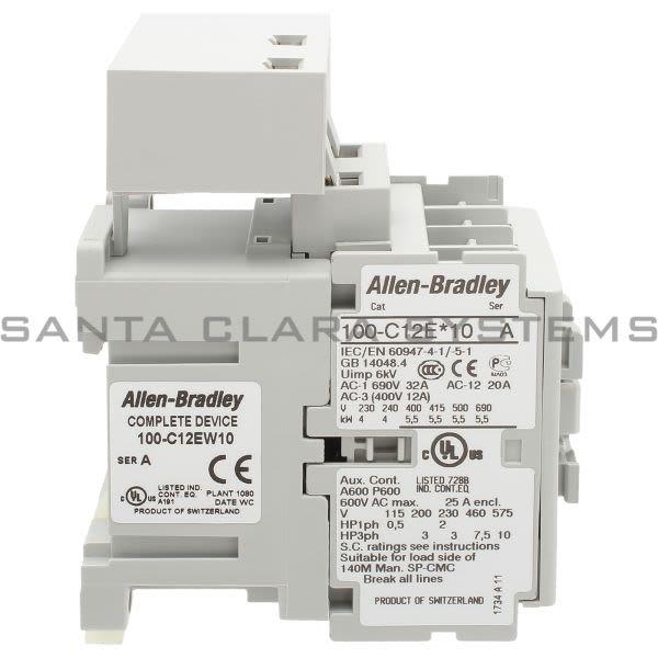 Allen Bradley 100-C12EW10  Product Image