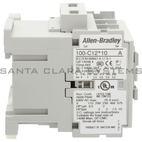 Allen Bradley 100-C12KL10  Product Image