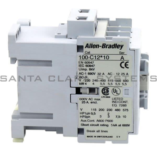Allen Bradley 100-C12KY10 Contactor Product Image