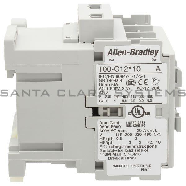Allen Bradley 100-C12Q10  Product Image
