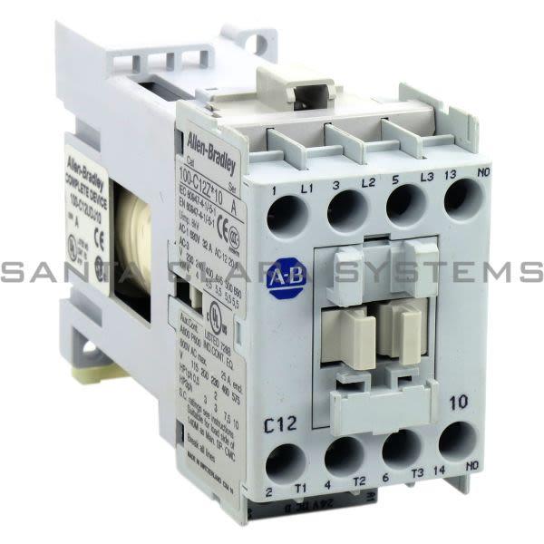Allen Bradley 100-C12UDJ10 Contactor Product Image