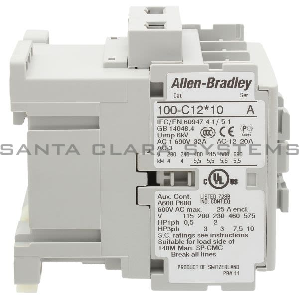 Allen Bradley 100-C12W10  Product Image