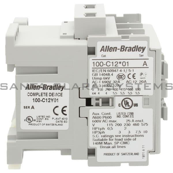 Allen Bradley 100-C12Y01  Product Image
