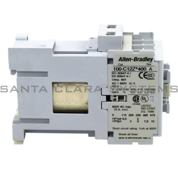 Allen Bradley 100-C12ZJ400 Contactor Product Image