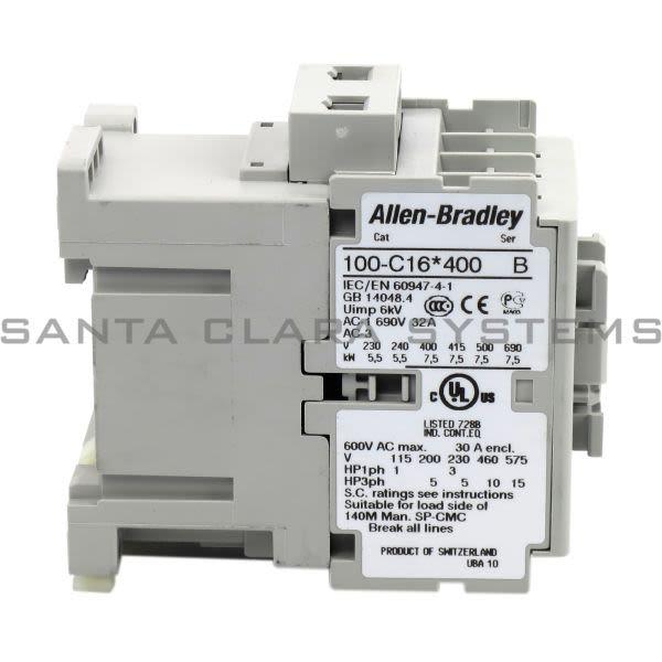 Allen Bradley 100-C16D400 Contactor Product Image