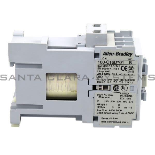 Allen Bradley 100-C16DJ01 Contactor Product Image