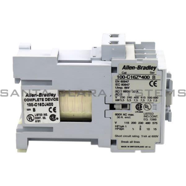 Allen Bradley 100-C16DJ400 Contactor Product Image