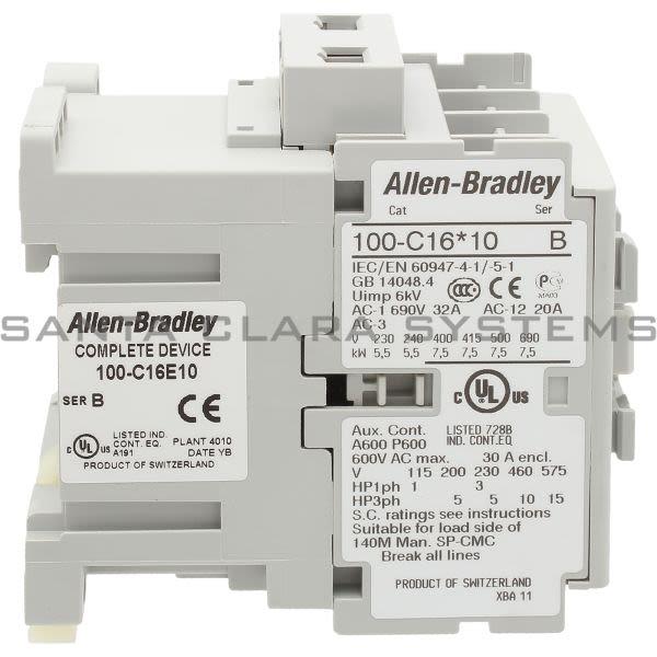 Allen Bradley 100-C16E10  Product Image