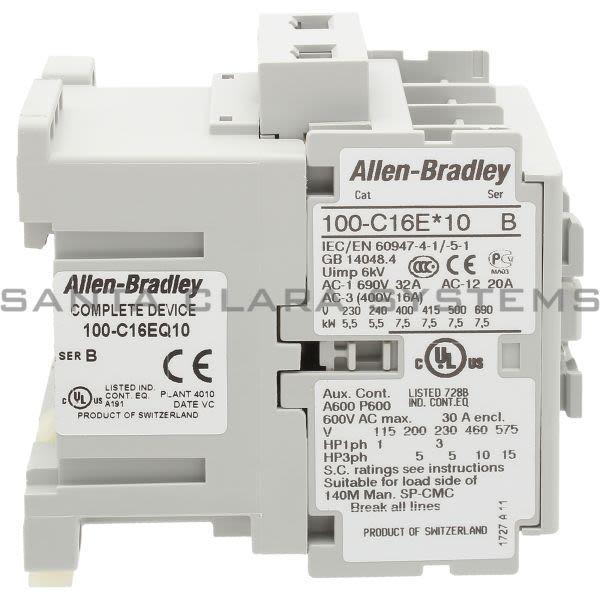 Allen Bradley 100-C16EQ10  Product Image