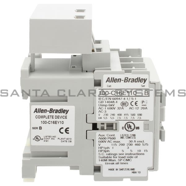 Allen Bradley 100-C16EY10  Product Image