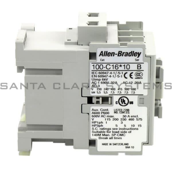 Allen Bradley 100-C16KD10 Contactor Product Image