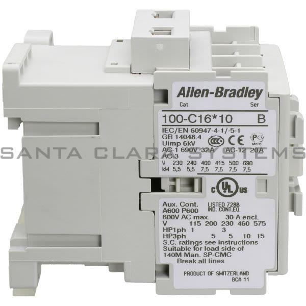 Allen Bradley 100-C16KJ10 Contactor Product Image