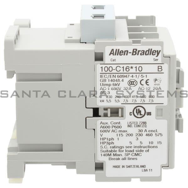 Allen Bradley 100-C16M10  Product Image