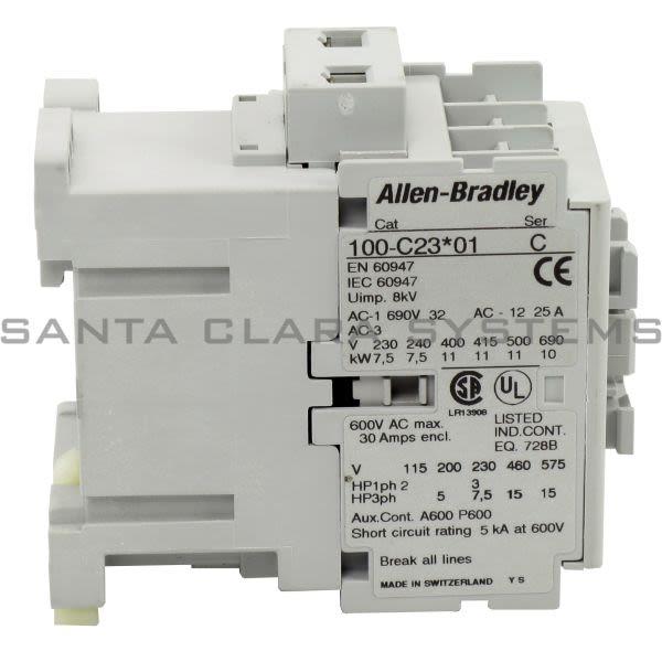 Allen Bradley 100-C23B01 Contactor Product Image