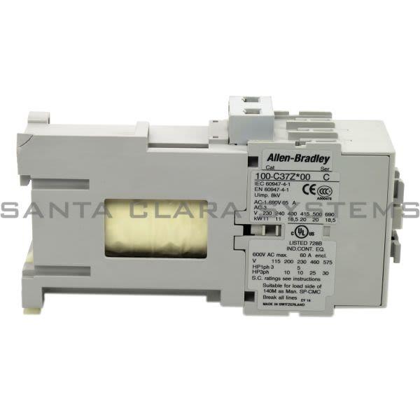 Allen Bradley 100-C37ZJ00 Contactor Product Image