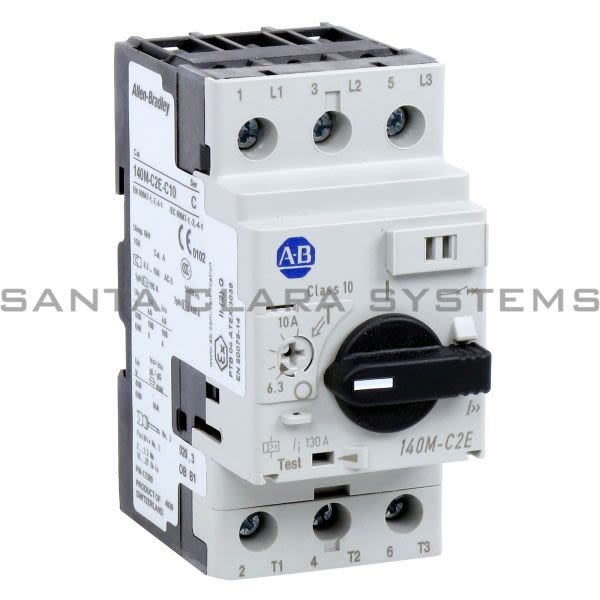 Allen Bradley 140M-C2E-C10 Circuit Breaker Product Image